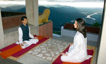 Ananda in the Himalayas Yoga