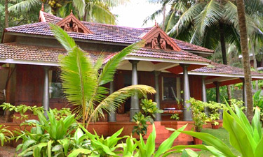 Bethsaida Hermitage Wooden Kerala House