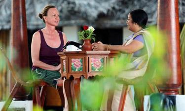 Meiveda Kerala Ayurveda Arztgespräch