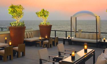 Leela Kovalam Beach Club Bar