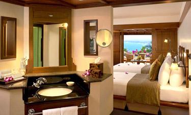 Leela Kovalam Beach View Zimmer
