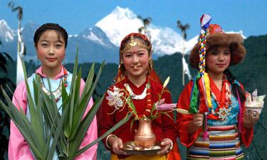 Nordindien, Bhutan und Nepal Reise