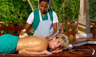 Travancore Heritage Resort Ayurveda Behandlung