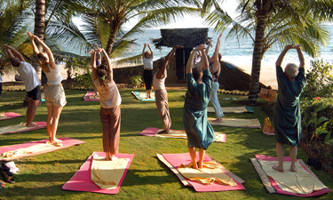 Manaltheeram Ayurveda Beach Village Yoga