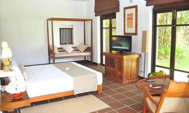 Heritance Ayurveda Maha Gedara Deluxe Eck Zimmer