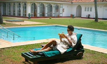 Lotus Villa Garten