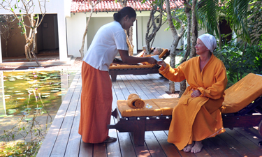 Heritance Ayurveda Maha Gedara Ayurveda Behandlung