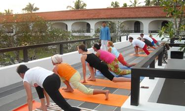 Heritance Ayurveda Maha Gedara Yoga und Meditation
