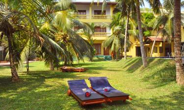 Muthumuni River Resort Gartenzugang