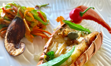 Alila Diwa Goa The Club Bistro Lobster