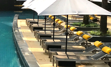 The DIWA Club Goa Pool