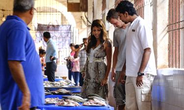 Alila Diwa Goa Ausflug Fischmarkt