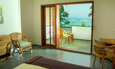 Cliff View Ayurveda Retreat Komfort Zimmer
